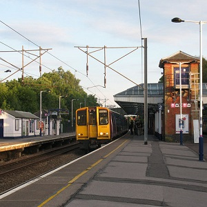 Hertford North station
