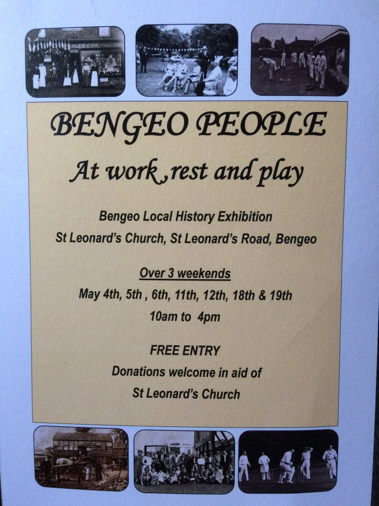 Bengeo People flyer